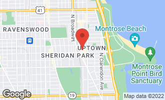 Map of 4616 North Kenmore Avenue #407 CHICAGO, IL 60640