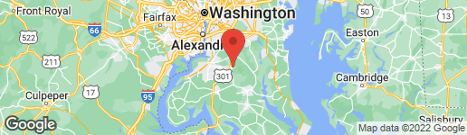 Map of 4618 HARWICH DRIVE WALDORF, MD 20601