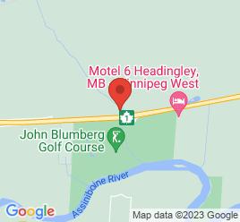 Google Map of 4621+Portage+Avenue%2CWinnipeg%2CManitoba+R4H+1C7