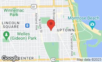 Map of 4622 North Magnolia Avenue 1N CHICAGO, IL 60640