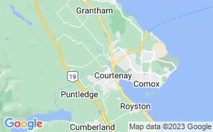 Map of Puntledge RV Campground & Nim Nim Interpretive Centre