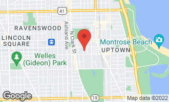 Map of 4627 North Beacon Street 3S CHICAGO, IL 60640