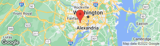 Map of 4635 ASPEN HILL COURT ANNANDALE, VA 22003