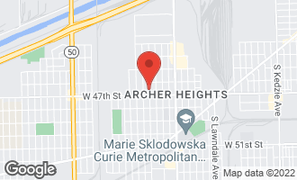Map of 4636 South Keeler Avenue CHICAGO, IL 60632