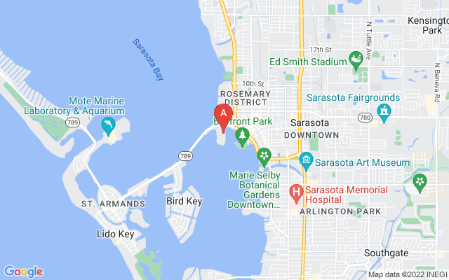 464 Golden Gate Pt #701 Sarasota Florida 34236 locatior map