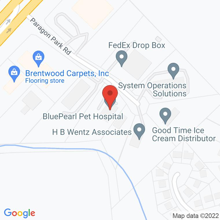 Google Map of 4640 Paragon Park Road, Raleigh, NC 27616, 4640 Paragon Park Road, Raleigh, NC 27616