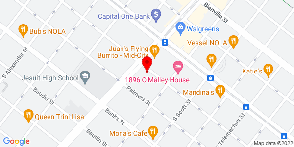 Google Map of 4640 S. Carrollton Ave. Suite 160 New Orleans, LA 70119