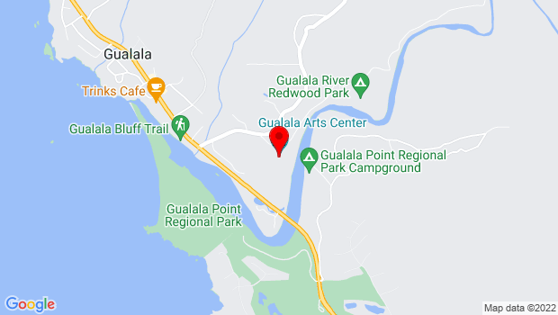 Google Map of 46501 Old State Highway, Gualala, CA 95445