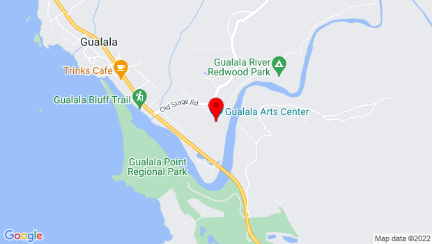 Google Map of 46501 Old State Highway, Gualala, CA