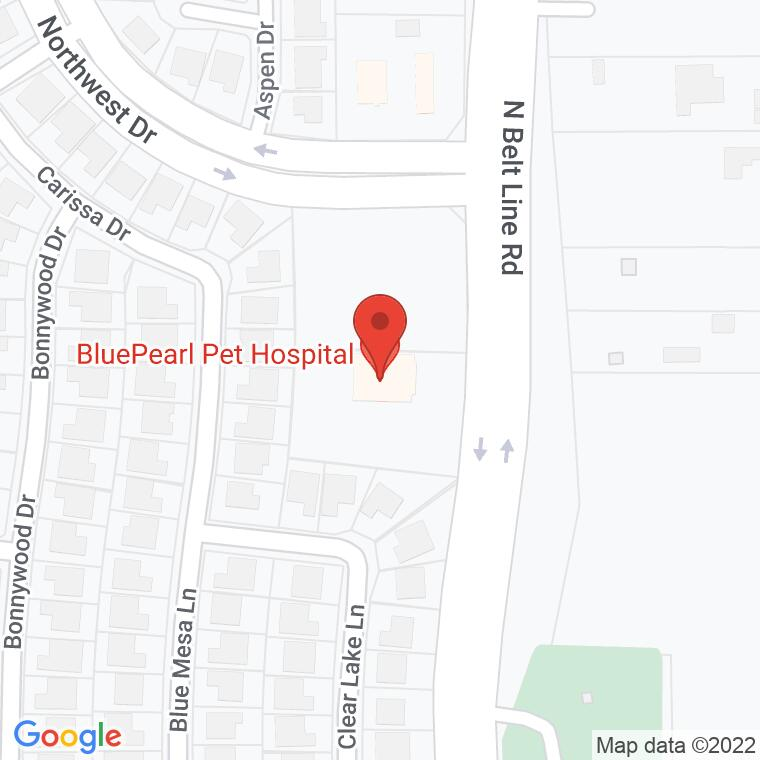 Google Map of 4651 N. Belt Line, Mesquite, TX, 75150