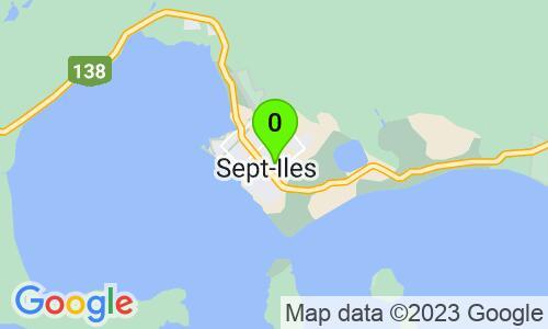 Carte du 467, avenue Perreault, Sept-Îles, G4R 1K6, Québec