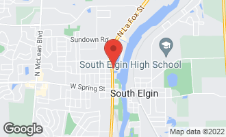 Map of 467 North La Fox Street SOUTH ELGIN, IL 60177