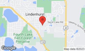 Map of 468 Mockingbird Court LINDENHURST, IL 60046