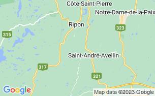 Map of Domaine Du Grand Calme