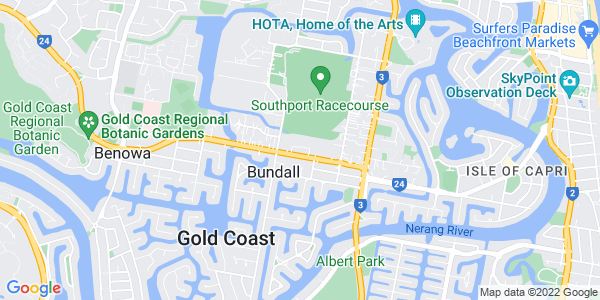 Google Map of 47 Ashmore Road, Bundall QLD 4217 Australia