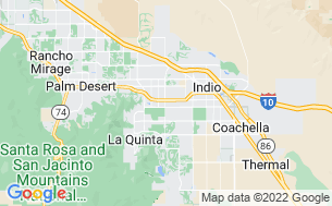Map of Indian Wells RV Resort