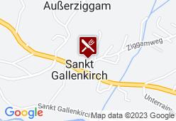 Hotel Gasthof Adler - Karte