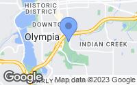 Map of Olympia, WA
