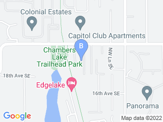 Map of Absolutely Reliable Cat Sitting Dog Boarding options in Lacey | Boarding