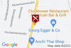 Harley Davidson - Clocktower American Bar & Grill - Karte