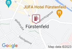 """Braugasthof """"Fürstenbräu"""" - Karte"""