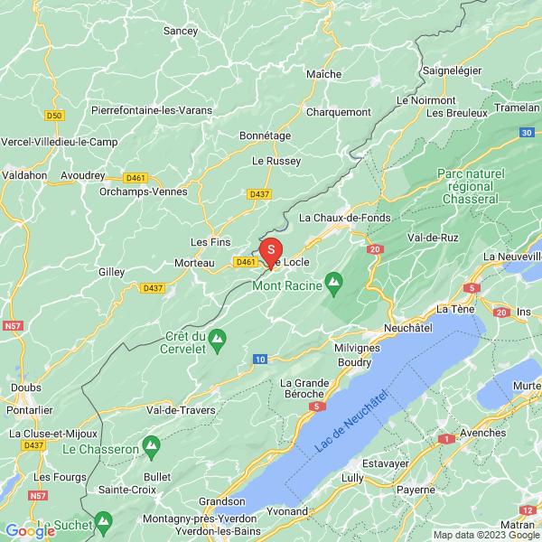 Moulins Souterrains du Col-des-Roches au Locle