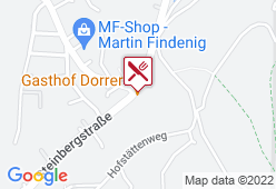 Gasthof Dorrer - Karte