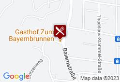 Gasthaus Zum Baiernbrunnen - Karte