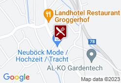 Gasthof Grillitsch - Rösslwirt - Karte