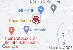 Casa Rustica - Karte