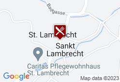Austria Trend Hotel Lambrechterhof - Karte