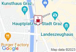 Das neue Stadtcafe - Karte