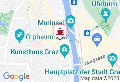 Insel Cafe - Murinsel Graz - Karte