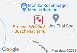 Weinhof Brunner - Karte