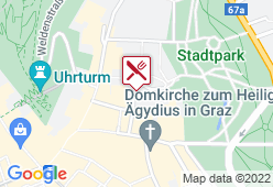Pfauengarten - Karte