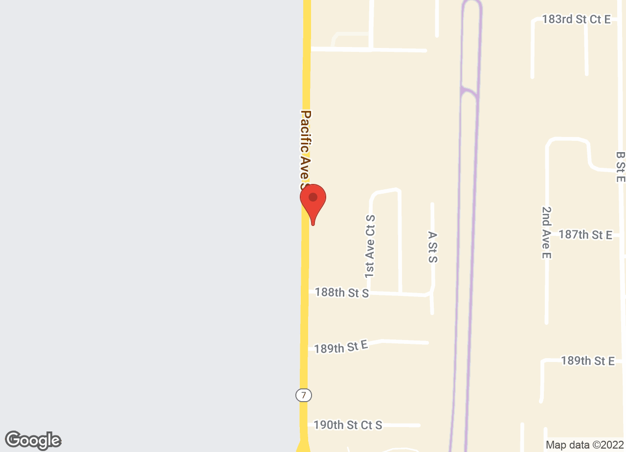 Google Map of VCA Pacific Avenue South Animal Hospital