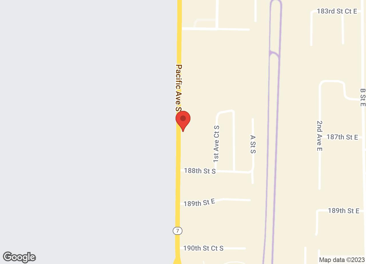 Google Map of VCA Pacific Avenue South Animal Hospital