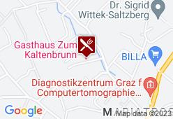 Restaurant Baumgartner zum Kaltenbrunn - Karte