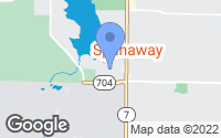 Map of Spanaway, WA