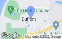 Map of DuPont, WA