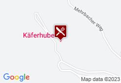 Käferhube - Karte