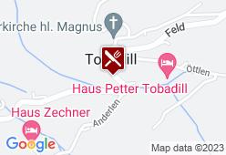 Gasthaus Alpenblick - Karte