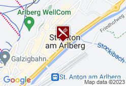 Raffls St. Antoner Hof - Karte