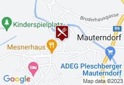 Mesnerhaus - Karte