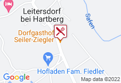 Dorfgasthaus Seiler-Ziegler - Karte
