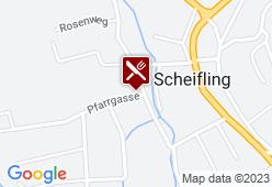 Kirchenwirt Scheifling - Karte