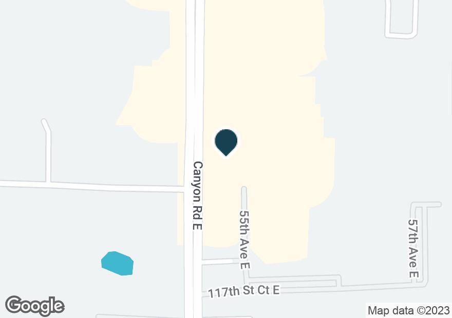 Google Map of11509 CANYON RD E