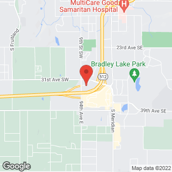Map of Willamette Dental Group - Puyallup at 702 South Hill Park Drive, Puyallup, WA 98373