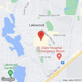 Map of Bed Bath & Beyond at 5830 Lakewood Towne Center Boulevard, Lakewood, WA 98499