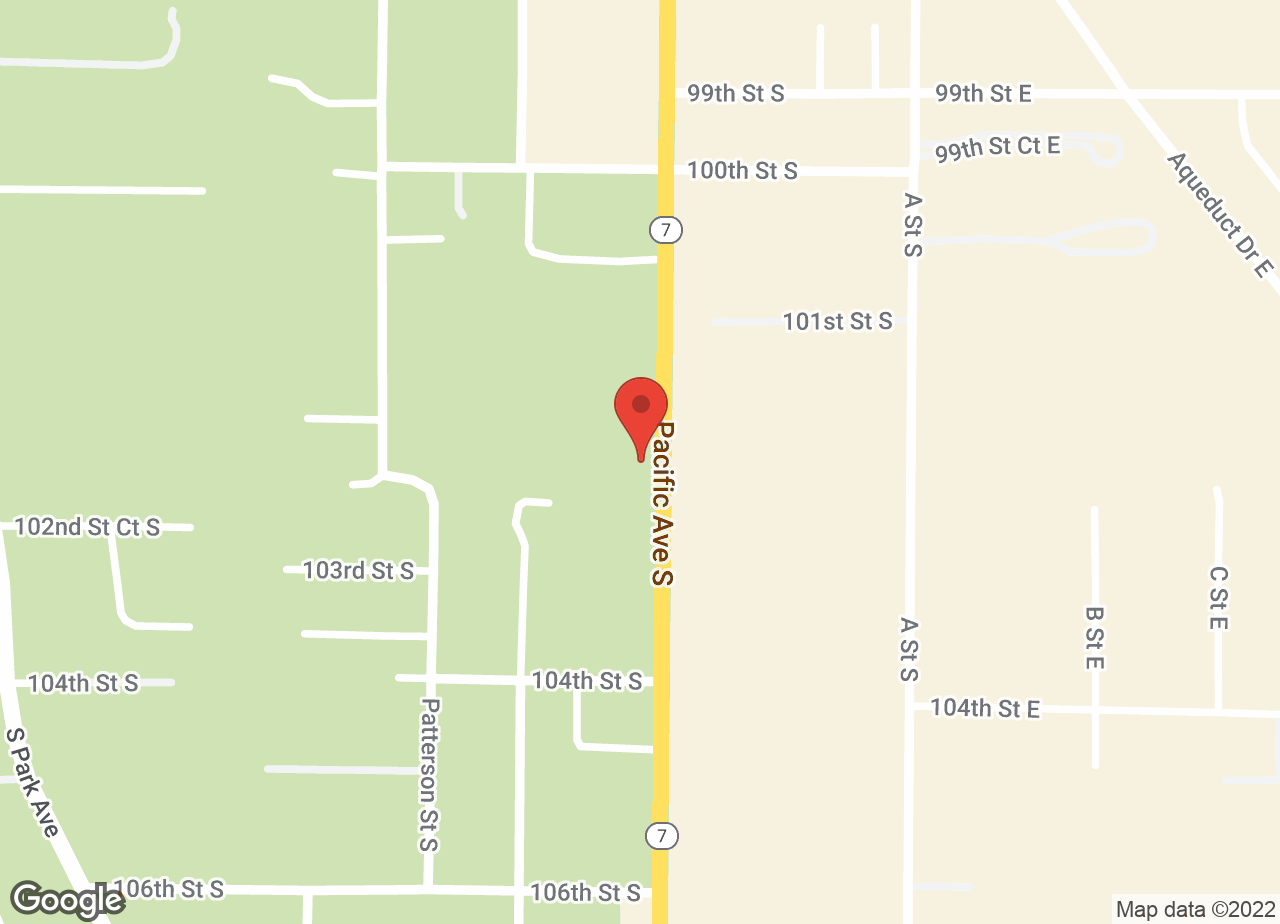 Google Map of VCA Pacific Avenue Animal Hospital